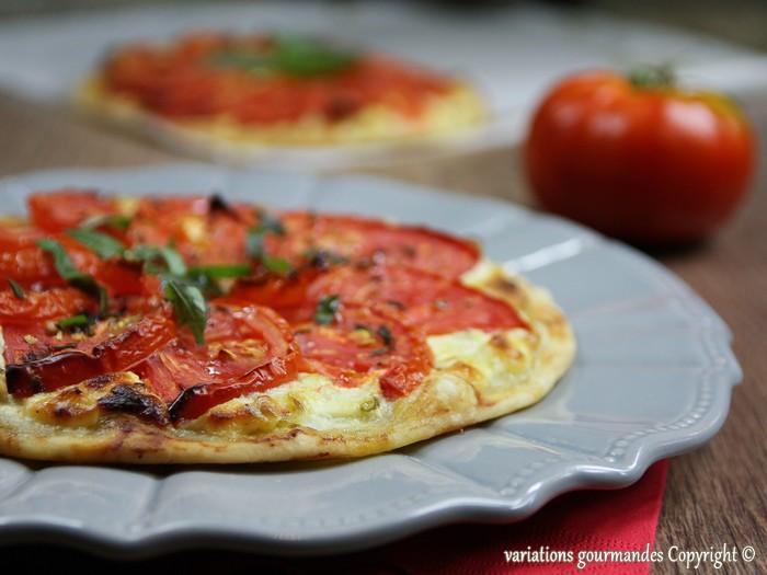 Exceptionnel Variations Gourmandes: Tarte fine aux tomates (ricotta, cébettes  RC41