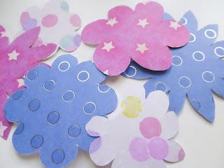 diy bricolage paques fleurs