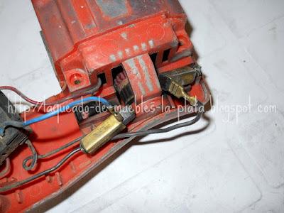 Mantenimiento taladro eléctrico