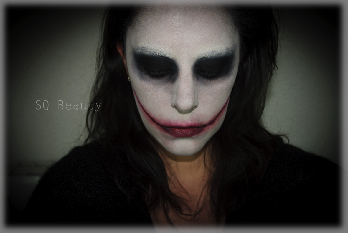 Jeff Killer Halloween Makeup