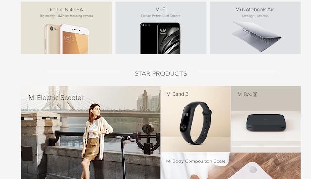 Site Oficial Xiaomi
