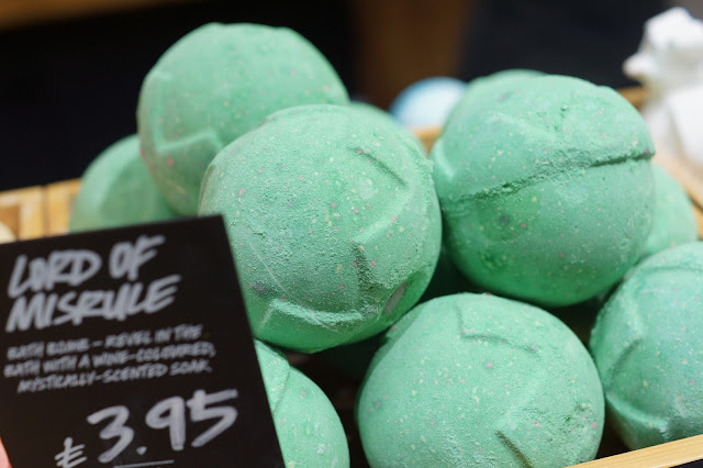 Hello Freckles Lush Halloween 2015 Lord of Misrule