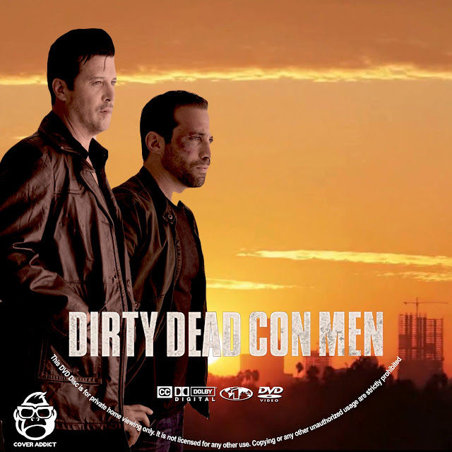 Dirty Dead Con Men DVD Label