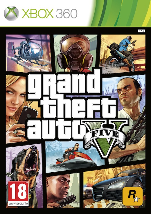 [XBOX 360] GTA 5/ Grand Theft Auto V