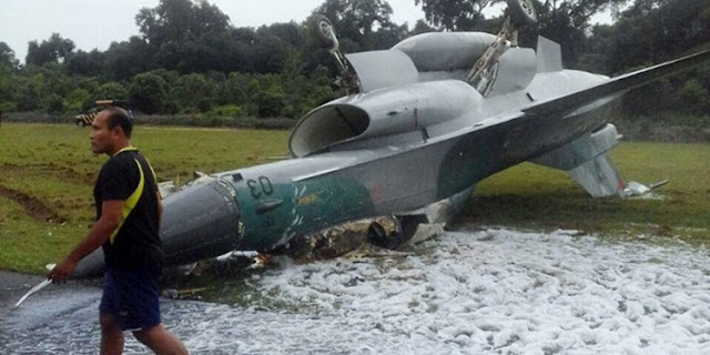 Pesawat F-16 Fighting Falcon Tergelincir, Seluruh Operasi Dihentikan