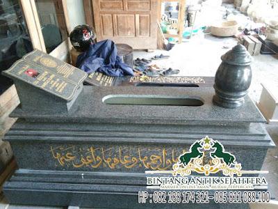 Kepala Pusara Bahan Granit | Harga Nisan Granit Surabaya