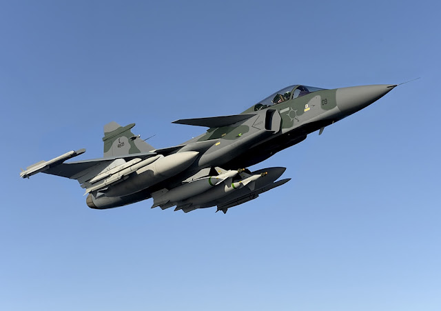 SAAB TRANSFERS TO EMBRAER THE GRIPEN TECHNOLOGY