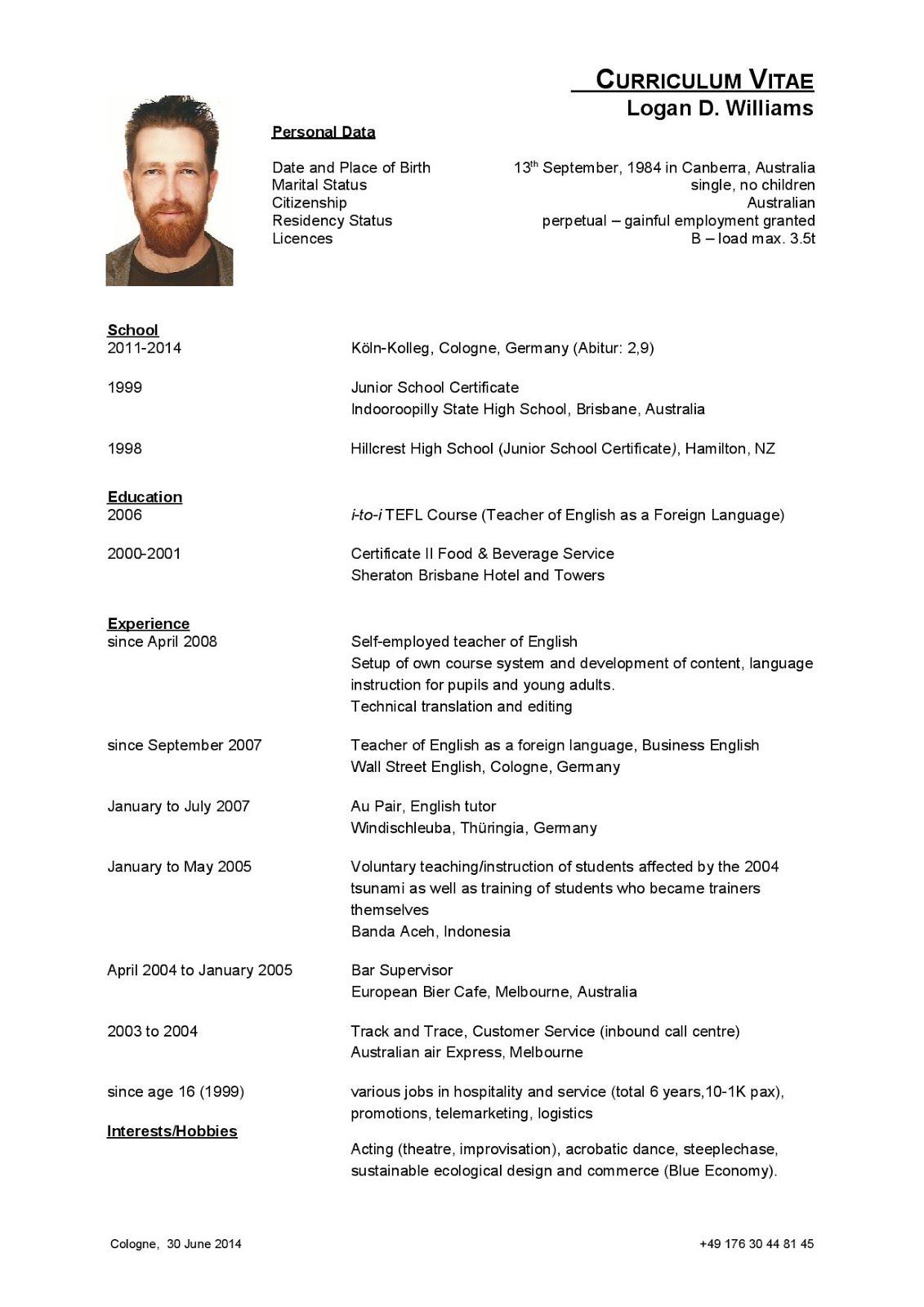 Curriculum-Vitae-Logan-2014-page-002 Que Contiene Un Curriculum Vitae on las habas, los chettos, una hormona, una boya dentro, el tabaco, etiqueta de paneton lo, el syncol, el desenfriol, el artriflam, la mucinex,