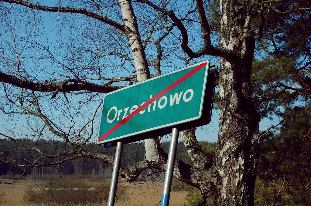 Orzechowo - wieś, którą zlikwidowano