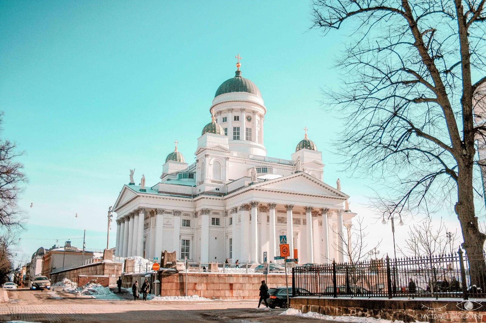 My Travel Background : 2 jours pour découvrir Helsinki, la capitale de la Finlande - Vue sur la Cathédrale Luthérienne d'Helsinki