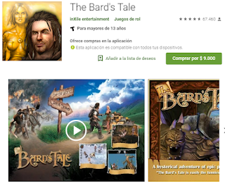 Apk de THE BARD'S TALE