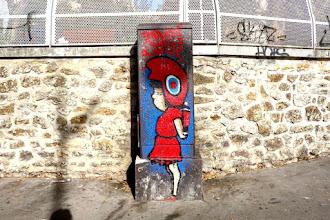 Sunday Street Art : Anonyme - rue Vicq d'Azir - Paris 10