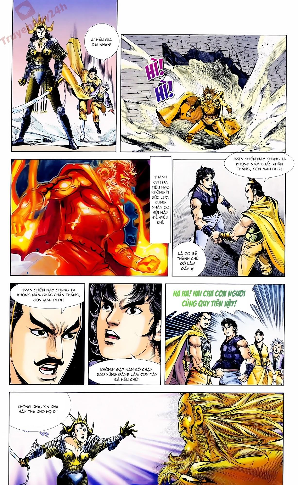 Cơ Phát Khai Chu Bản chapter 62 trang 16