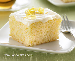 Lemon Snack Cake recipe