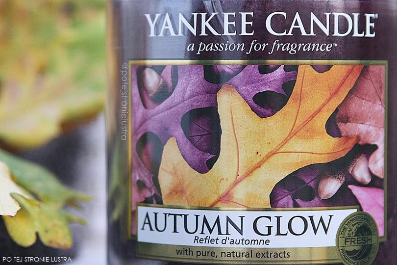 etykieta yankee candle autumn glow