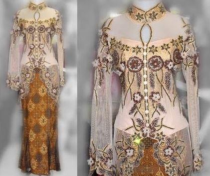 Salah satu busana yang bisa dipilih untuk menghadiri pesta adalah kebaya  modern. Ada beragam contoh baju ... 1480624fda
