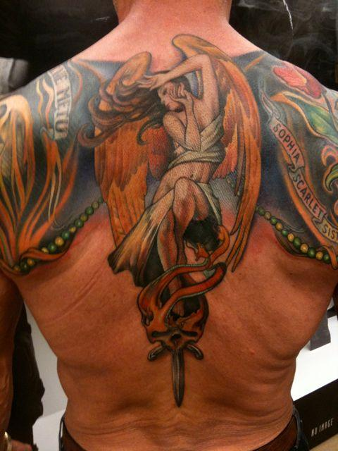 Special tattoos sylvester stallone tattoos