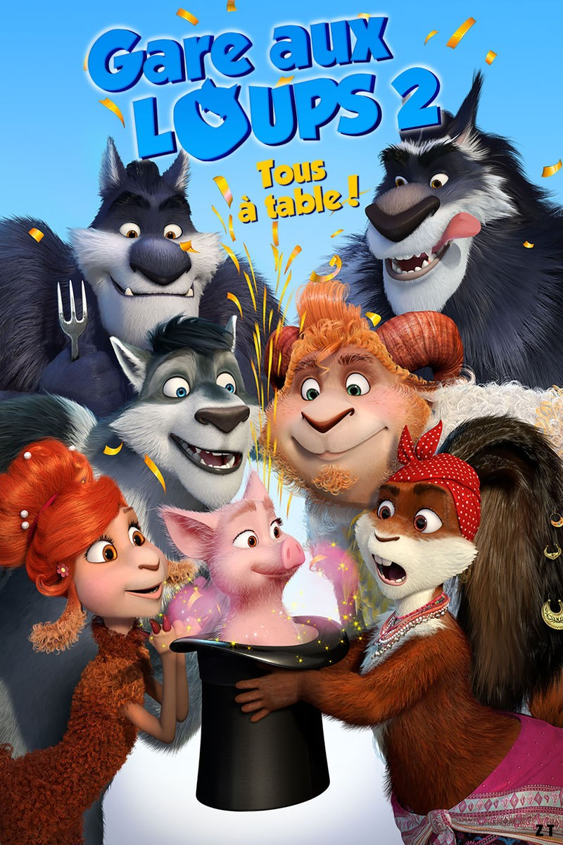 Gare aux loups 2: Tous à table! [HDRip] [Streaming] [Telecharger]