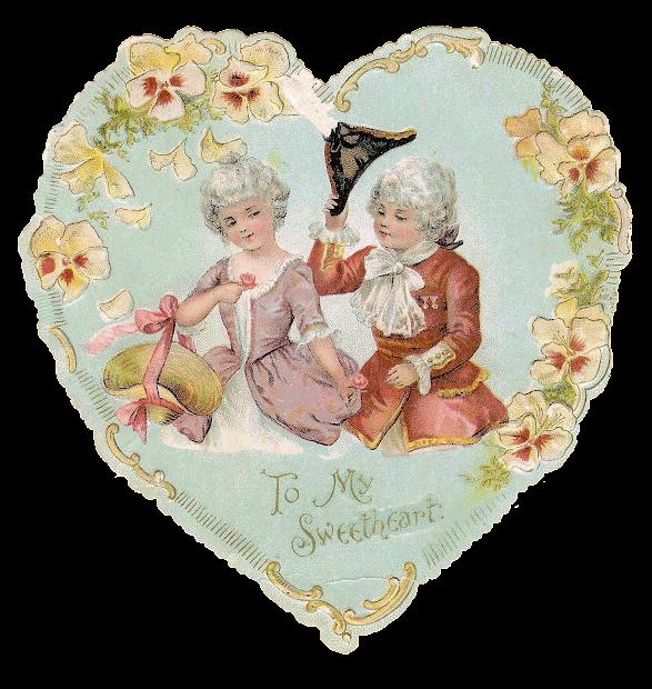 antique valentine's day