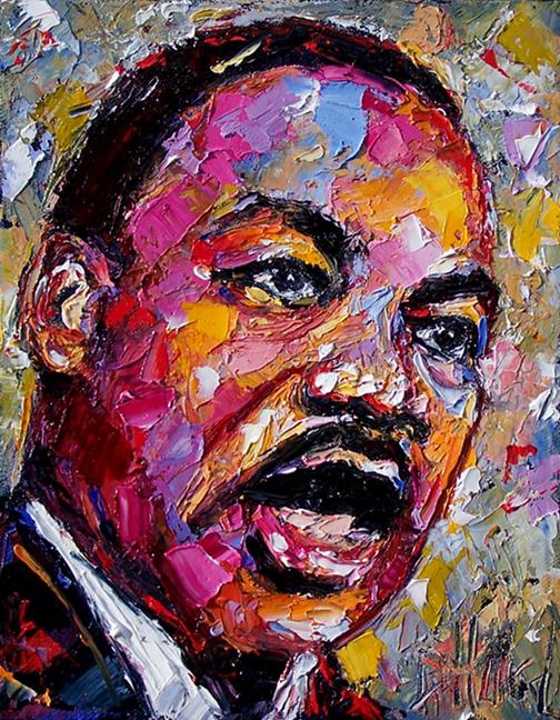Debra Hurd Original Paintings AND Jazz Art: Dr. Martin ...