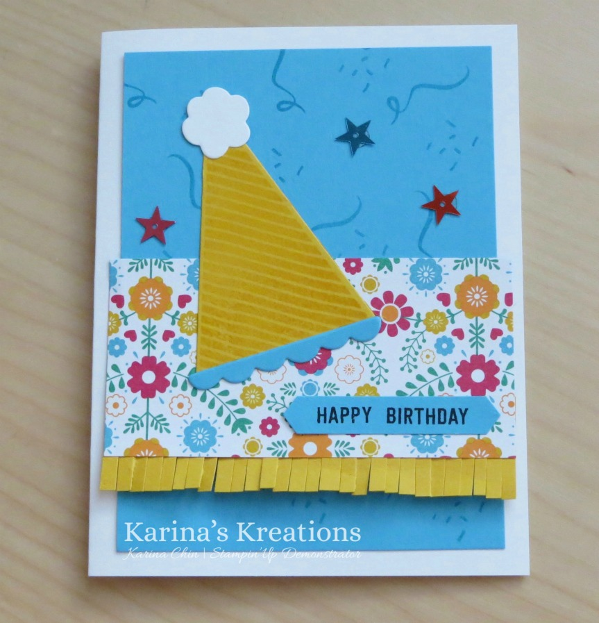 Karinas Kreations Biggest Birthday Ever Card