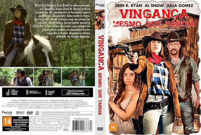 Capa DVD Vingança Mesmo Que Tardia