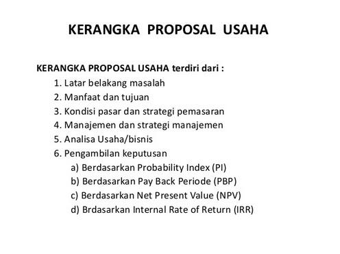Contoh Proposal Usaha Baju Batik Fashion Healthy Body Free Mind