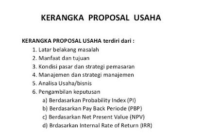 Contoh Proposal Pengajuan Modal Usaha Ke Investor Pdf