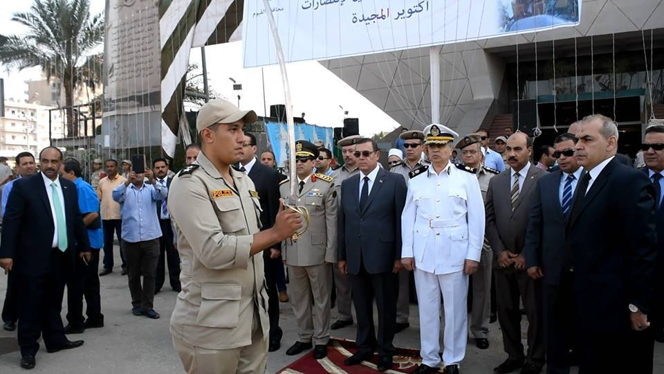 بالصور ذكرى انتصارات أكتوبر المجيدة بمحافظة الفيوم