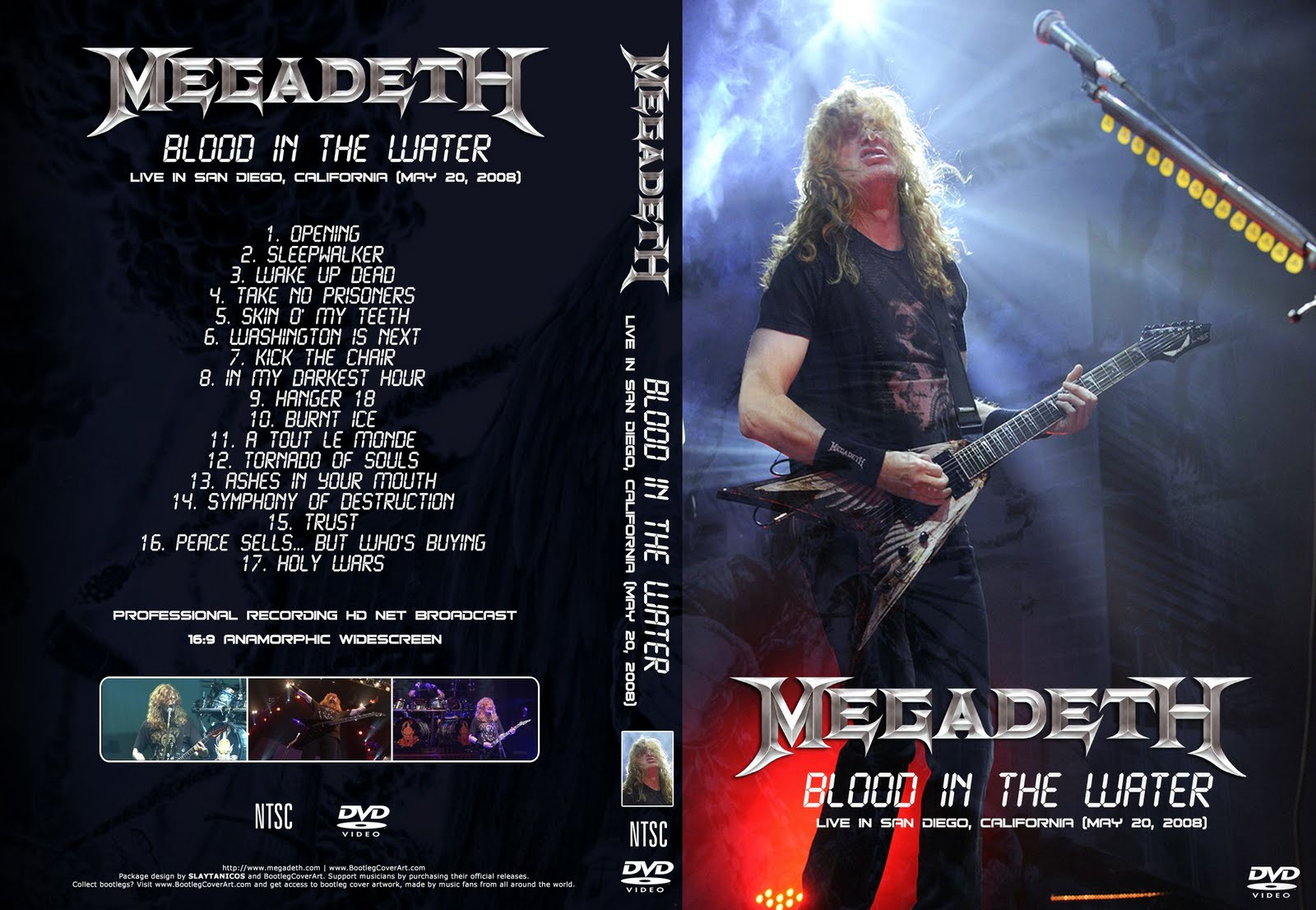 Megadeth Blood In The Water Live In San Diego 2008