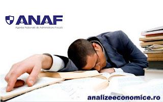 Ineficiența ANAF-ului în colectare