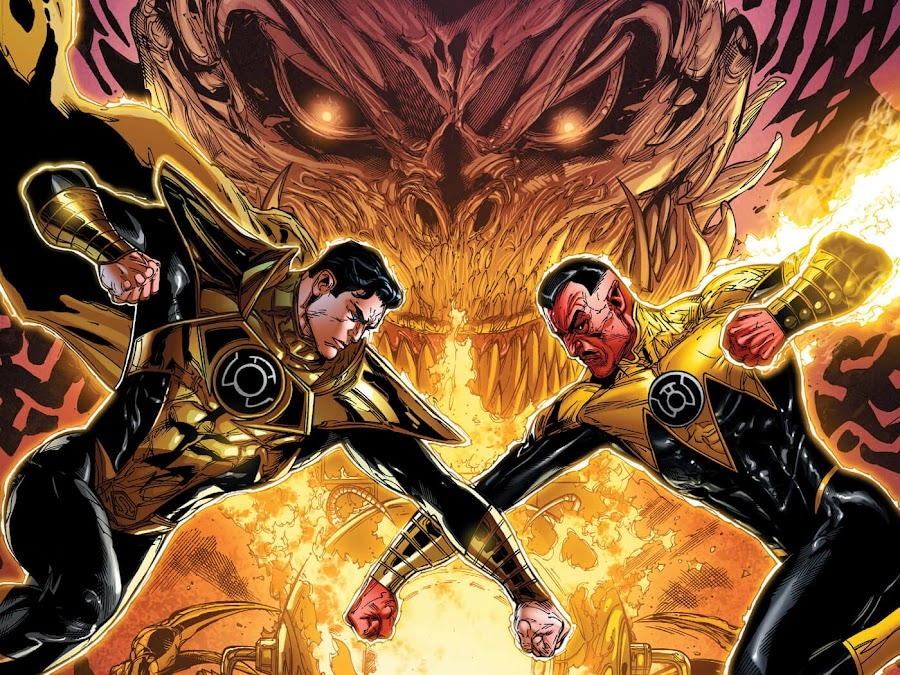 superman vs sinestro dc rebirth