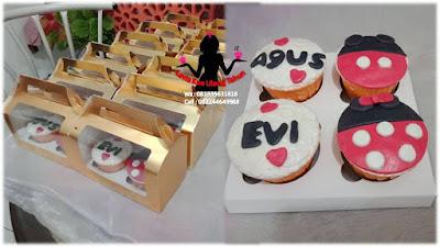 Paket cupcake box Ulang Tahun di McD