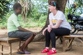 Pauline Cafferkey meets Ebola Survivors