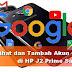 Cara Lihat dan Tambah Akun Google di HP J2 Prime Samsung