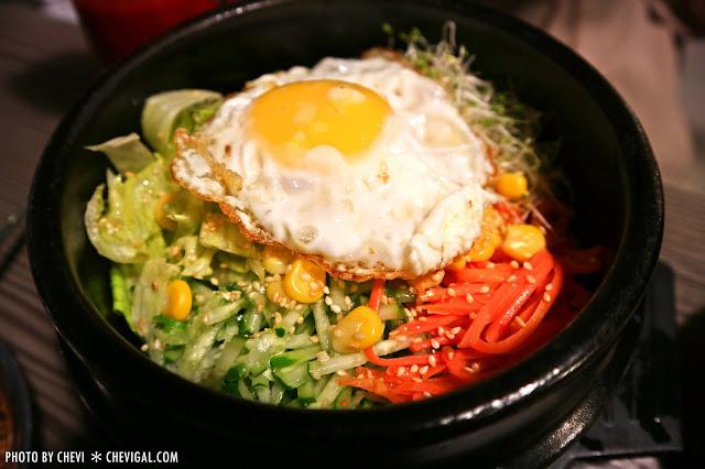 IMG 8036 - 韓屋,巷弄裡的平價韓式料理。香辣爽口不鎖喉。小菜白飯可續點