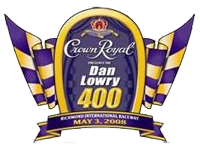 Crown Royal Presents the Dan Lowry 400 #NASCAR