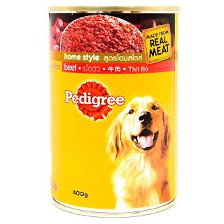 makanan anjing sehat, bergizi dan berkualitas