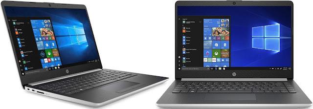 Comparativa mejores portátiles 14,0 pulgadas de unos 500 euros HP 14-dk0017ns vs HP 14-dk0002ns