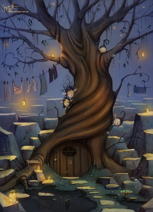 17-Little-Ones-Jeremiah-Morelli-Fantasy-Digital-Art-from-a-Middle-School-Teacher-www-designstack-co