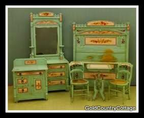 painted cottage furnitureGoldCountryCottage VICTORIAN COTTAGE FURNITURE