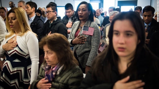 Reborn in the USA: Inside a citizenship ceremony