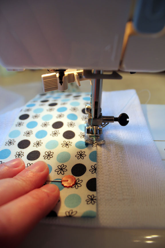 How To Sew Towel Edges