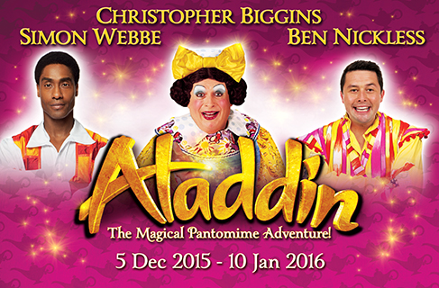 Aladdin showing at Theatre Royal, Nottingham until 10th January