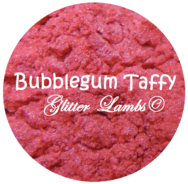 Bubblegum Taffy-Delicious Pigments:  Pink Mica Powder Pigments by Glitter Lambs