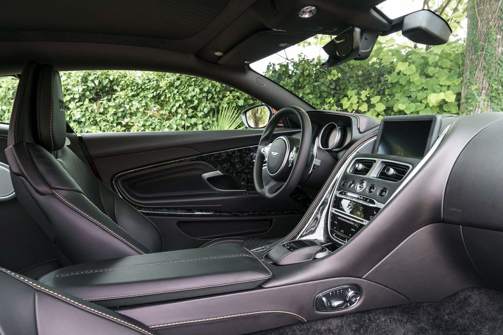 2017 Aston Martin Db11 V8 V12 Convertible Specs Interior Redesign