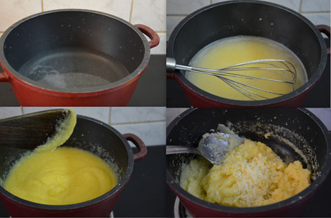 how to cook with polenta flour
