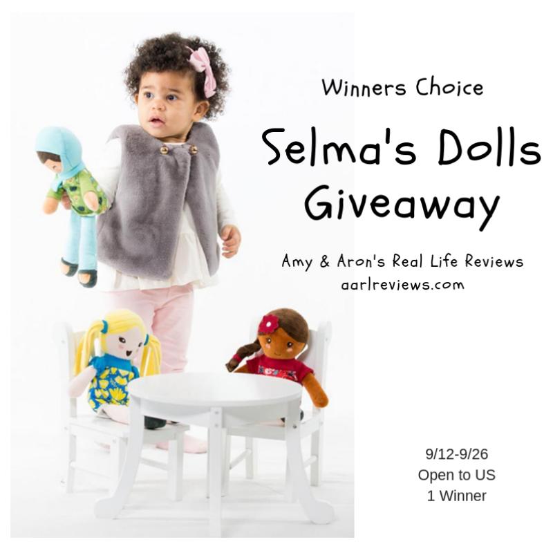 Winner Choice Selma's Dolls Giveaway