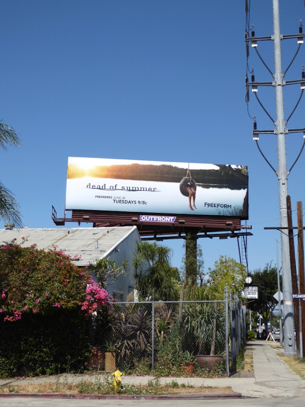 Dead of Summer season 1 billboard