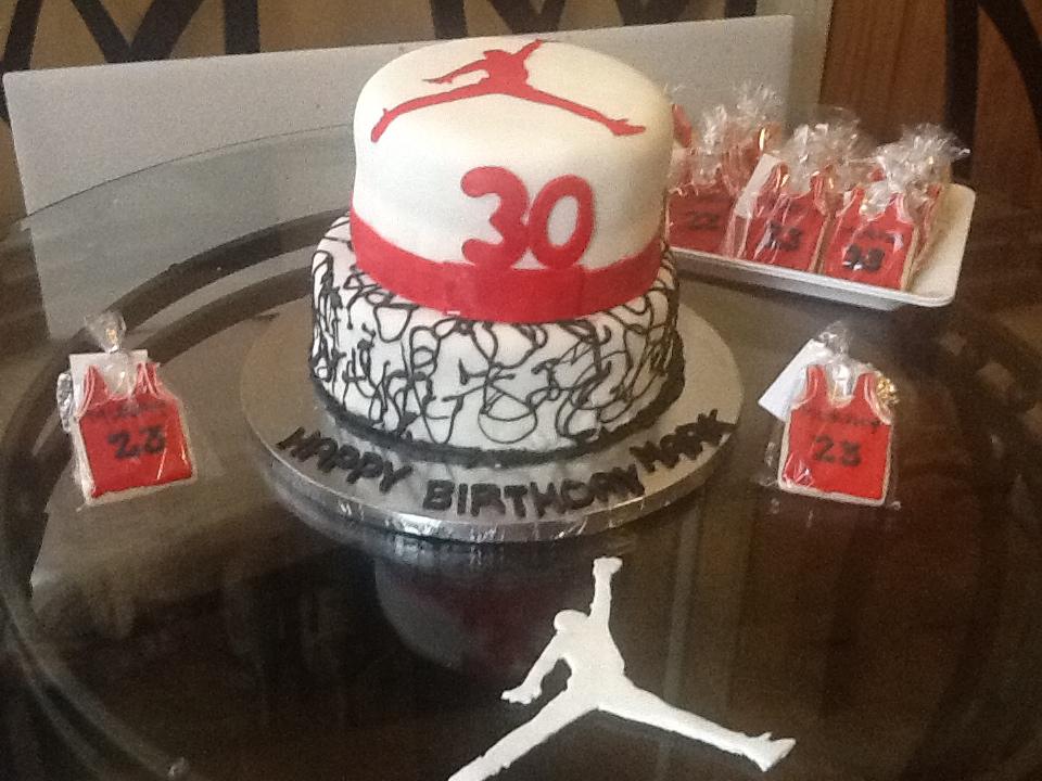 Melinda S 3 Sweets Michael Jordan Themed 30th Birthday